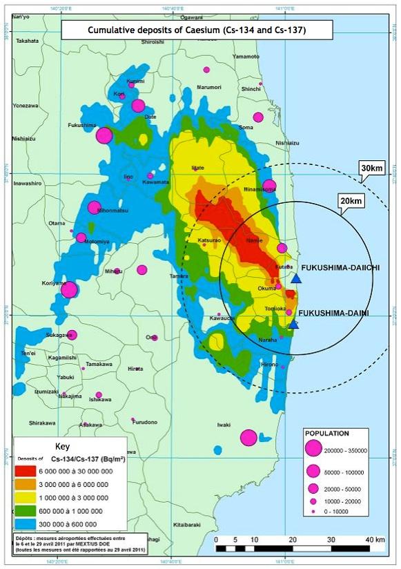 Fukushima caesium